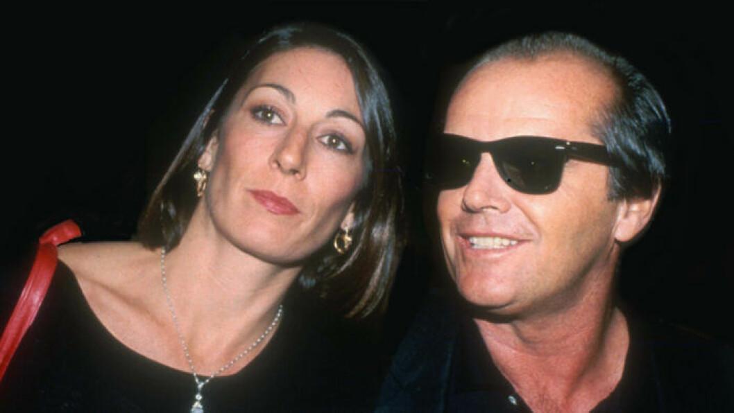 Jack Nicholson och Anjelica Houston