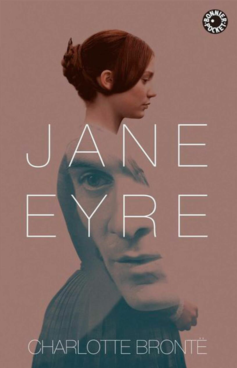 Bokomslag till Jane Eyre- Ung kvinna.