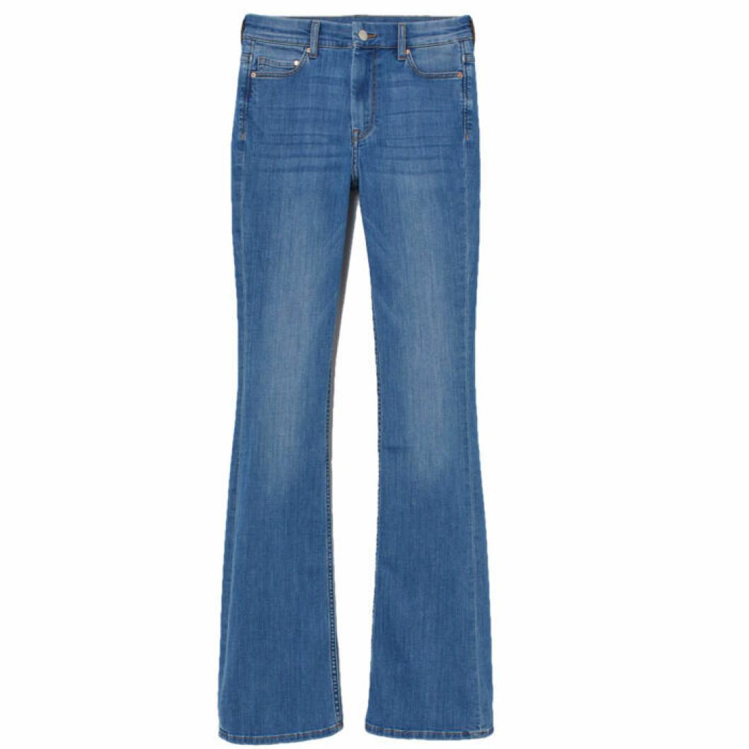 Jeans med hög midja från H&M