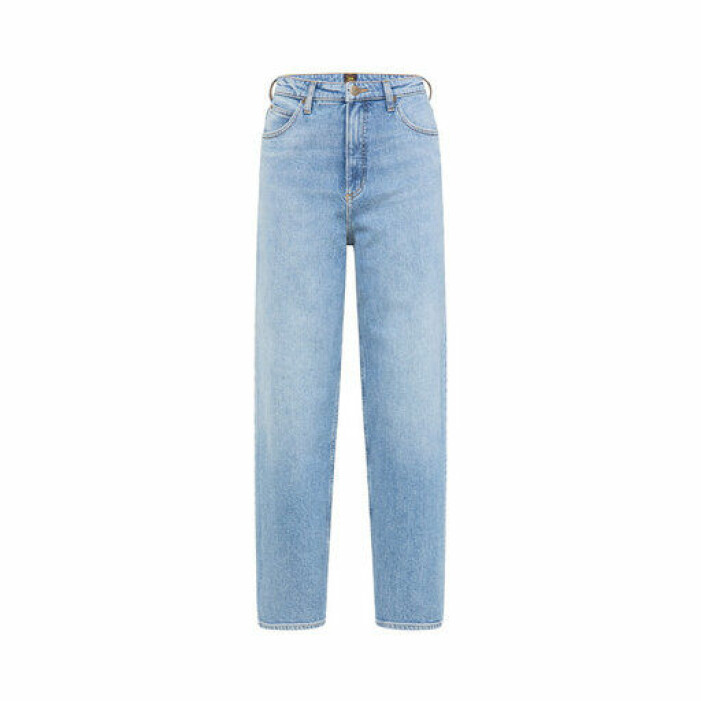 Snygga jeans från lee i ljusblått