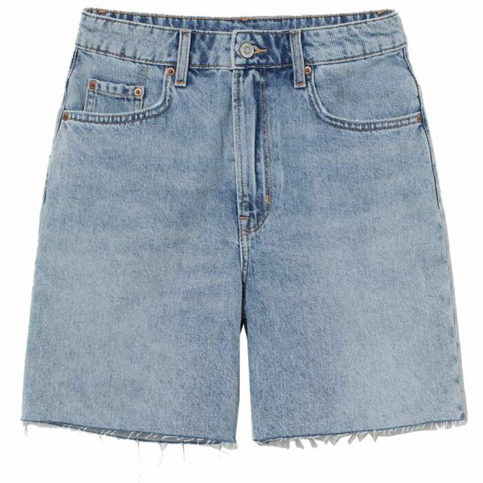 lösa jeansshorts hm