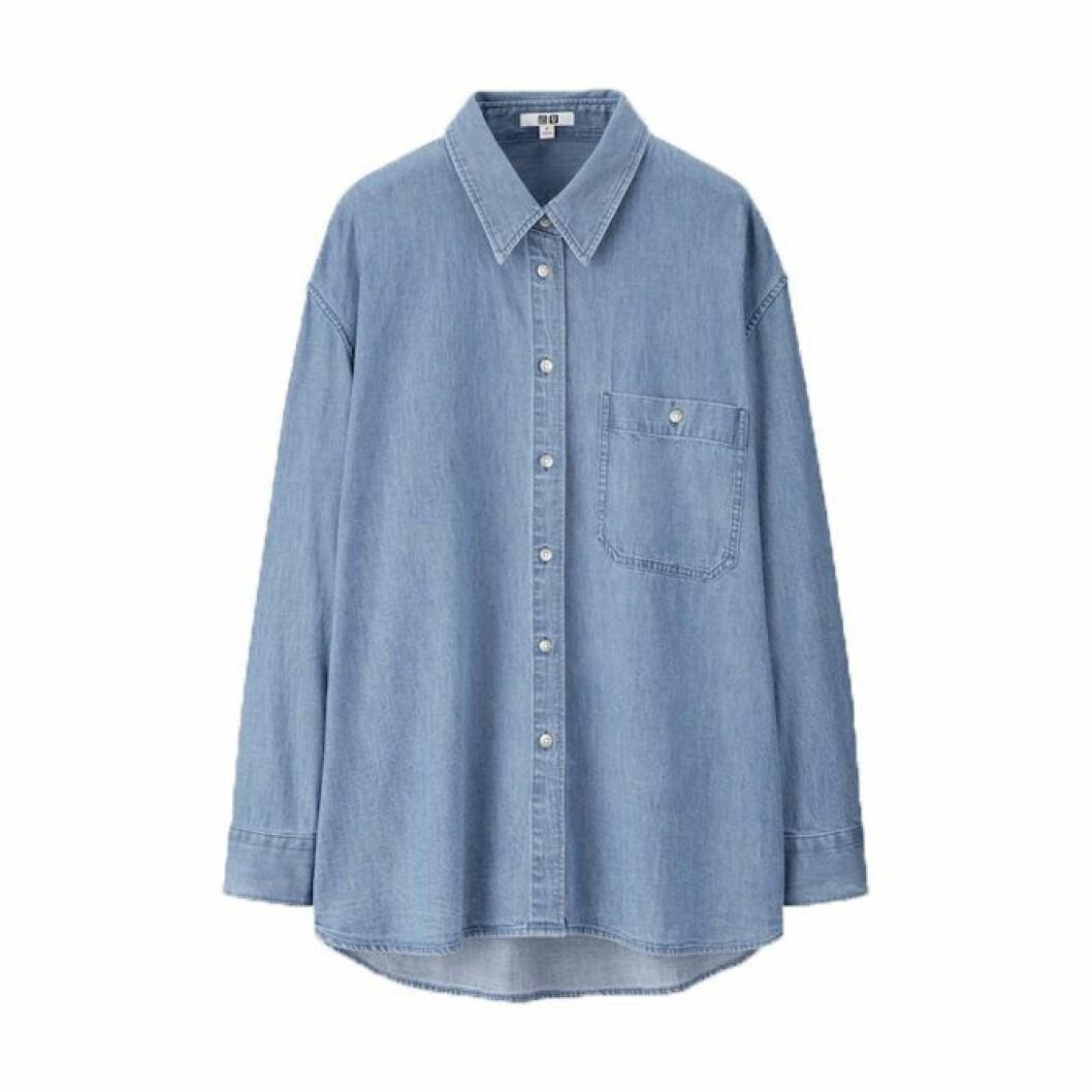 Denimskjorta från Uniqlo