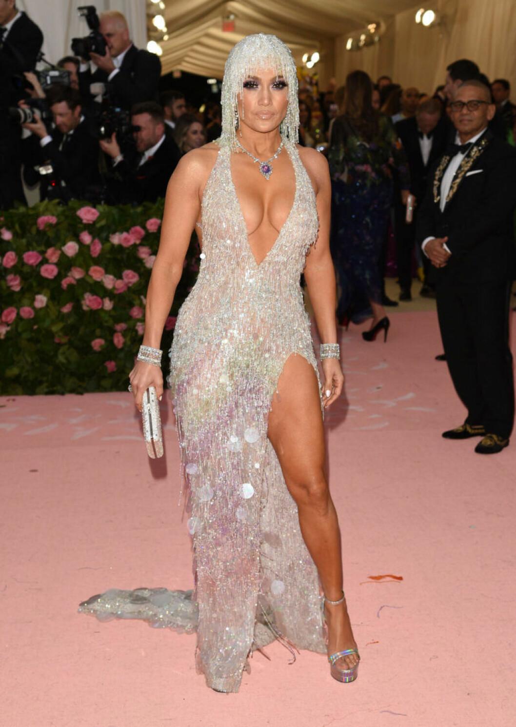 Jennifer Lopez på röda mattan