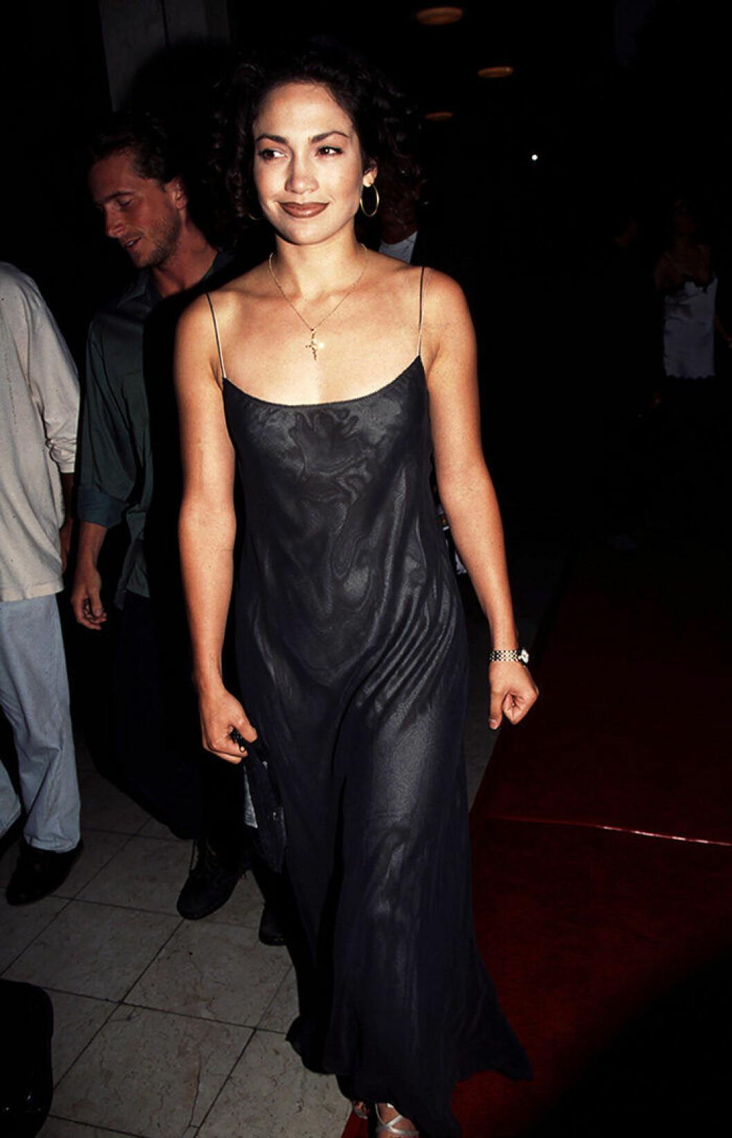 En bild på Jennifer Lopez 1995.