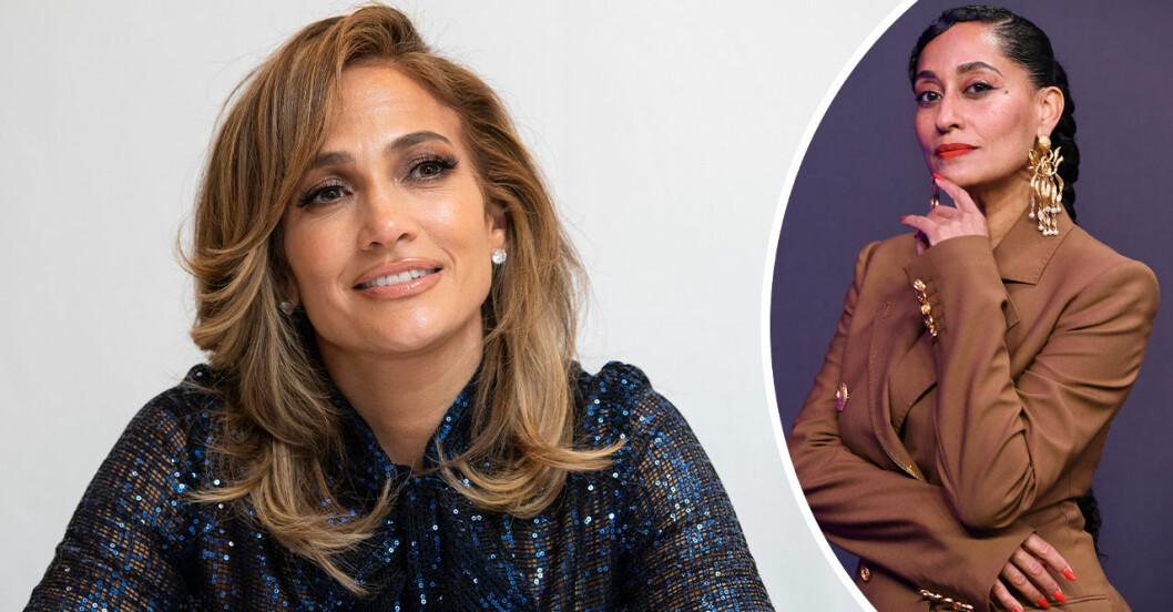 Jennifer Lopez och Tracee Ellis Ross