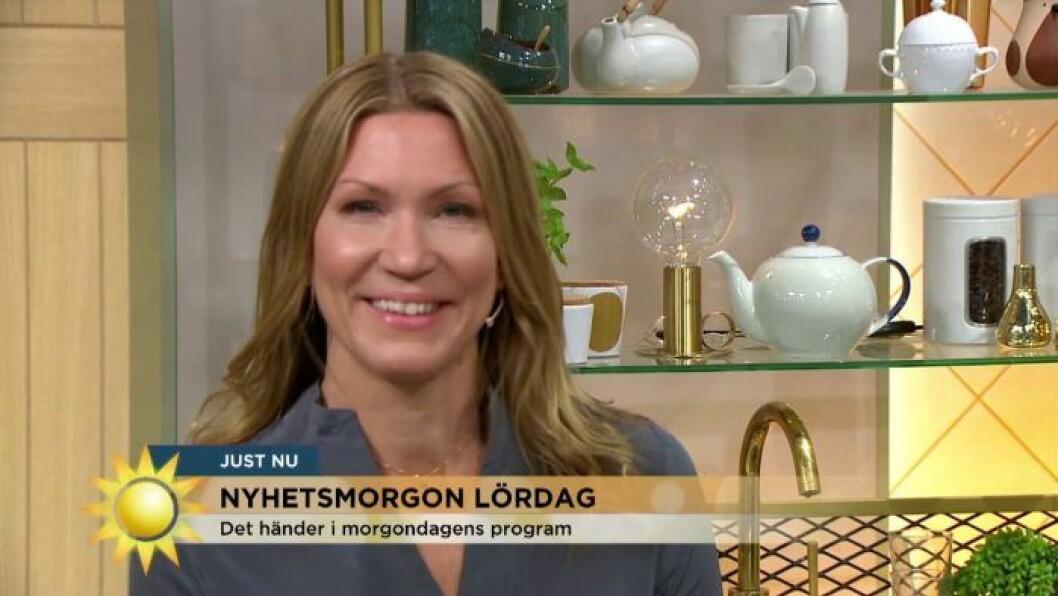 Jenny Alversjö i Nyhetsmorgon TV4