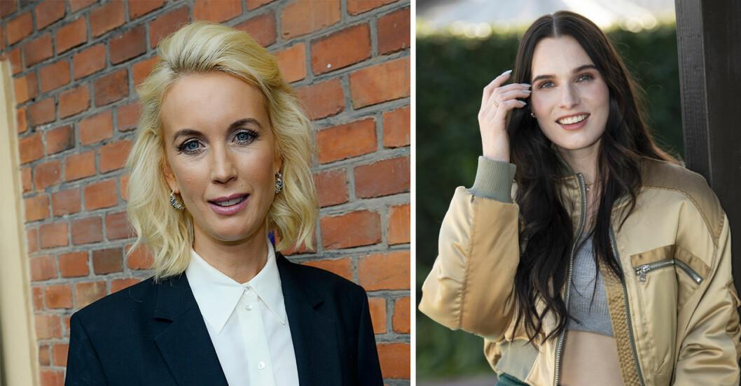 Jenny och bonusdottern Maja Strömstedt klickar väldigt bra.