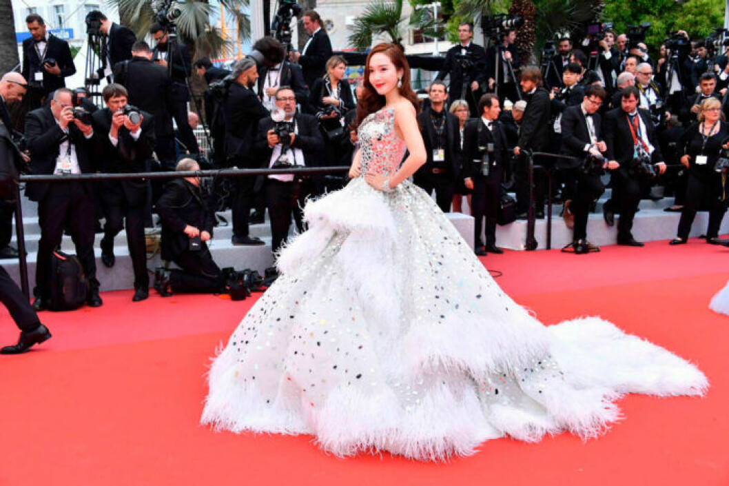 Jessica Jung Soo-yeon på filmfestivalen i Cannes 2019