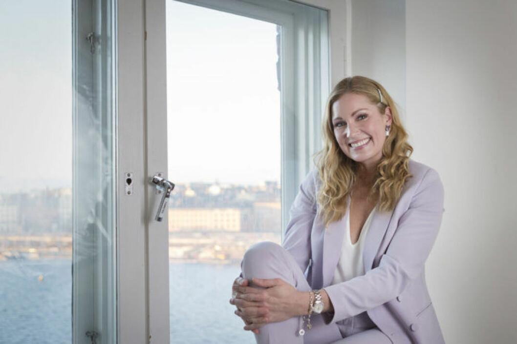 Jessica Almenäs om sin förlossning