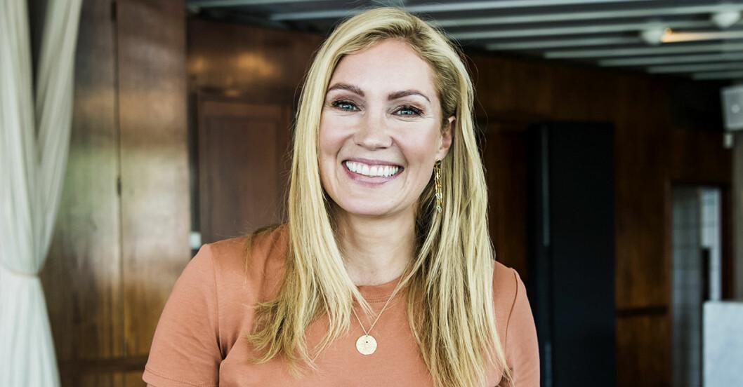 Jessica Almenäs syns i OS-studion och snart i Över Atlanten.