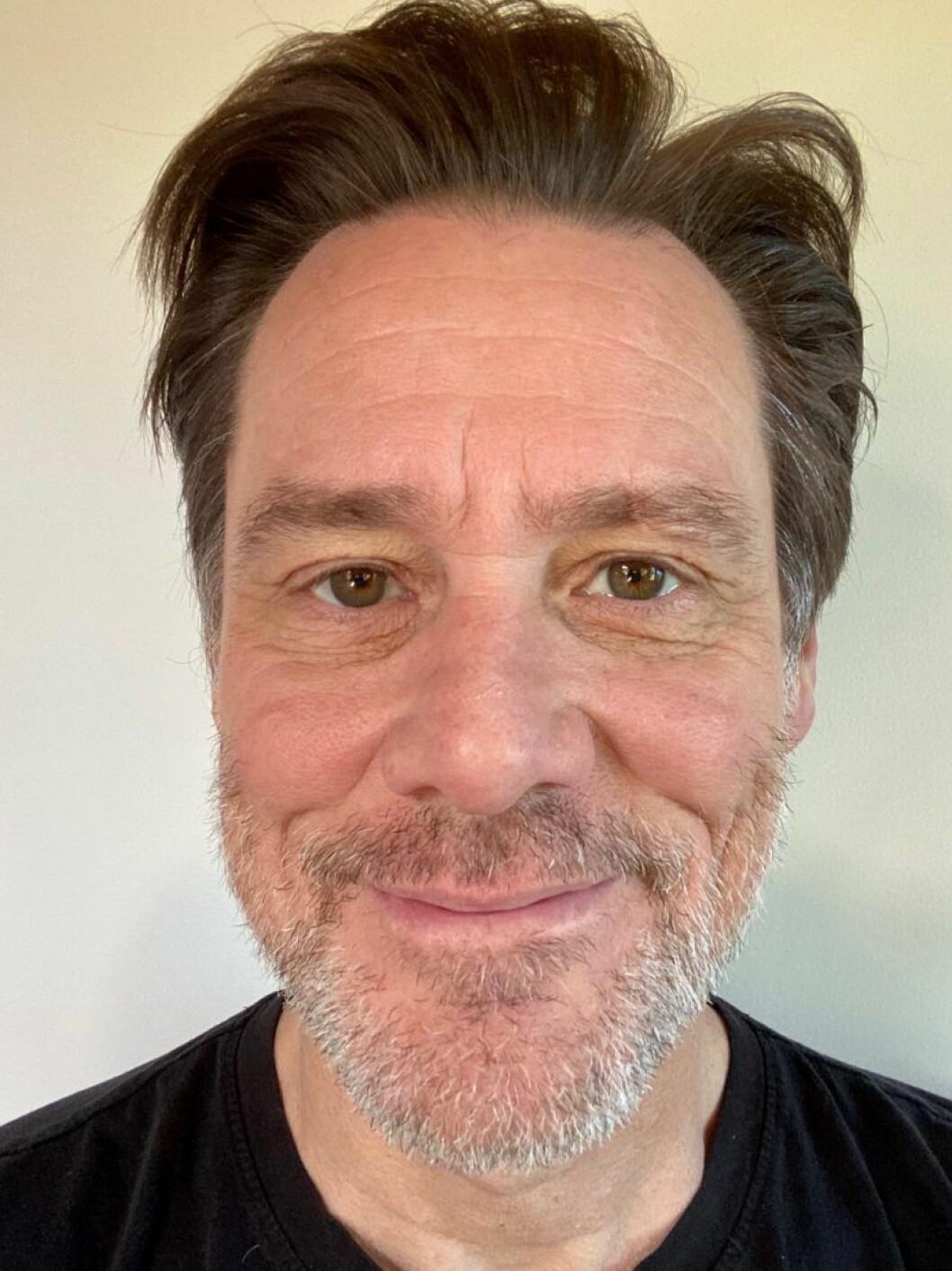 Jim Carrey i skägg