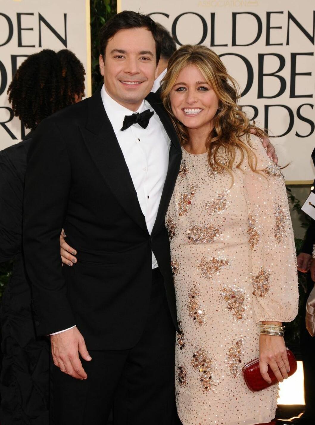 Jimmy Fallon och Nancy Juvonen har fått barn i hemlighet