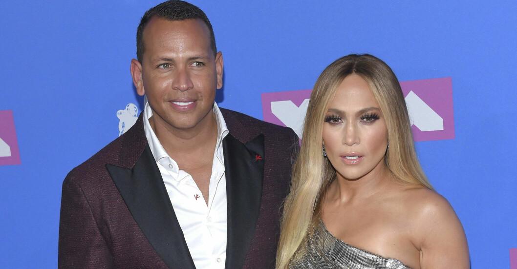 Jennifer Lopez och Alex Rodriguez
