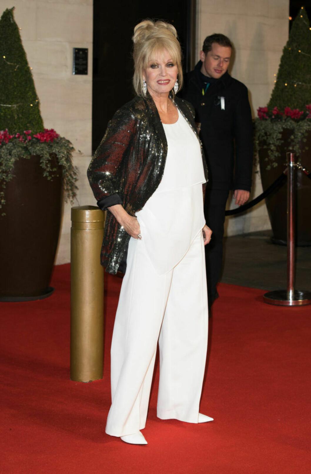Joanna Lumley på BAFTA 2019