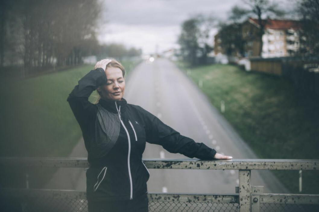 Johanna Toftby promenerade ifrån panikångesten