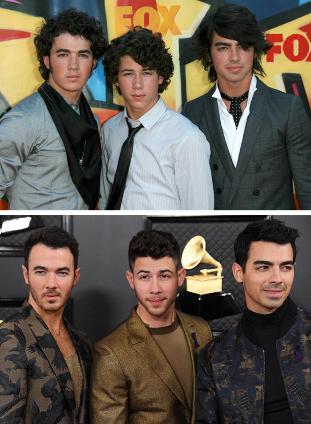 Jonas brothers då och nu