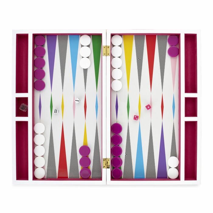 Backgammon spel Jonathan Adler