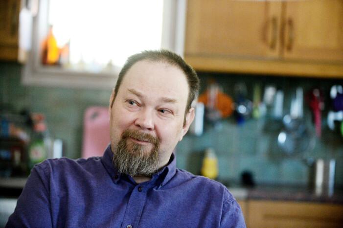 Jörgen Bloom i Rödja utanför Nässjö fick corona och låg i respirator i 75 dagar.
