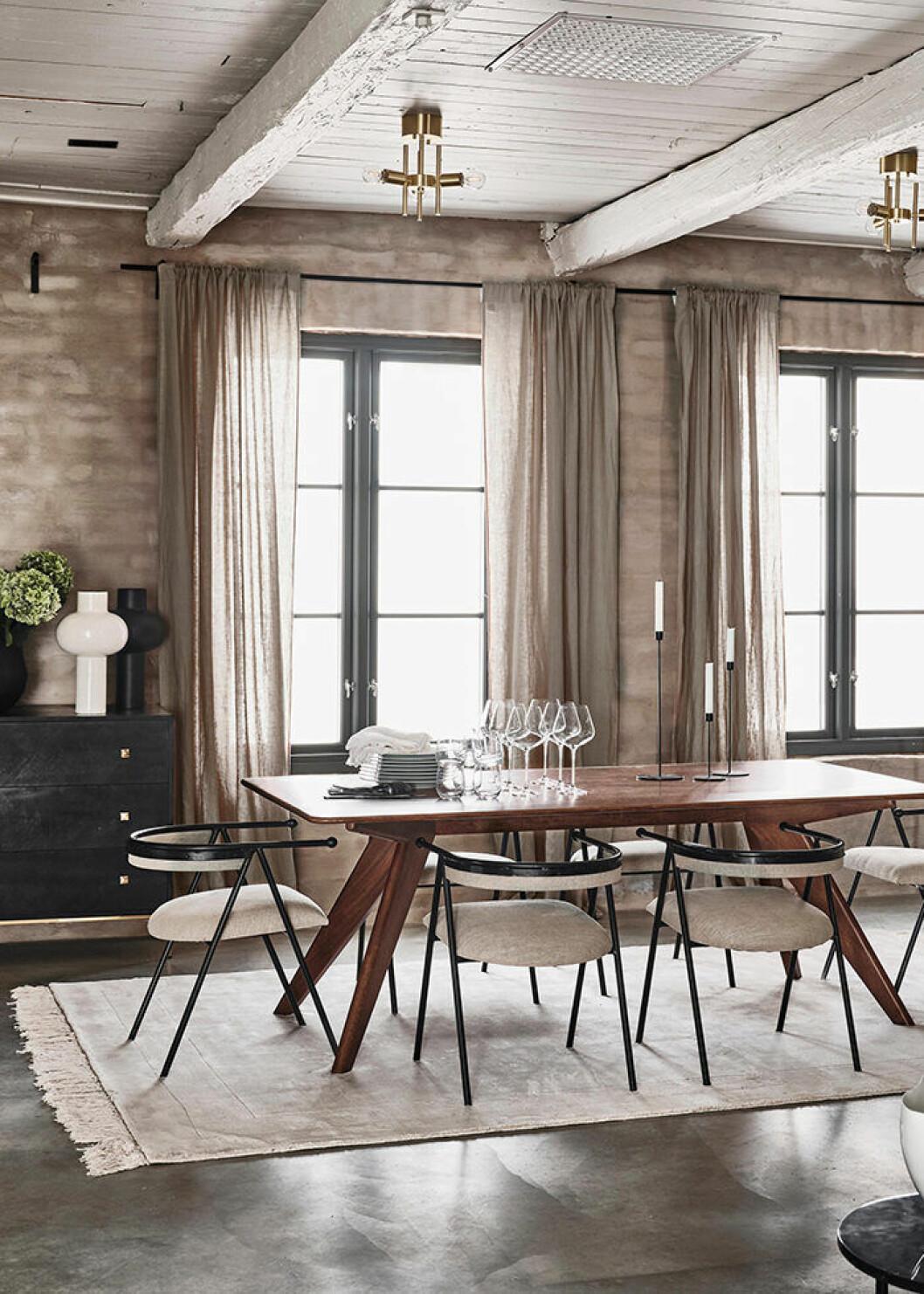 Jotex höstkollektion 2019 matbord