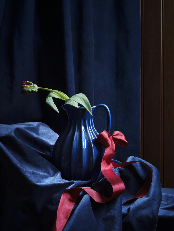 Mörkblå kanna från Ikea