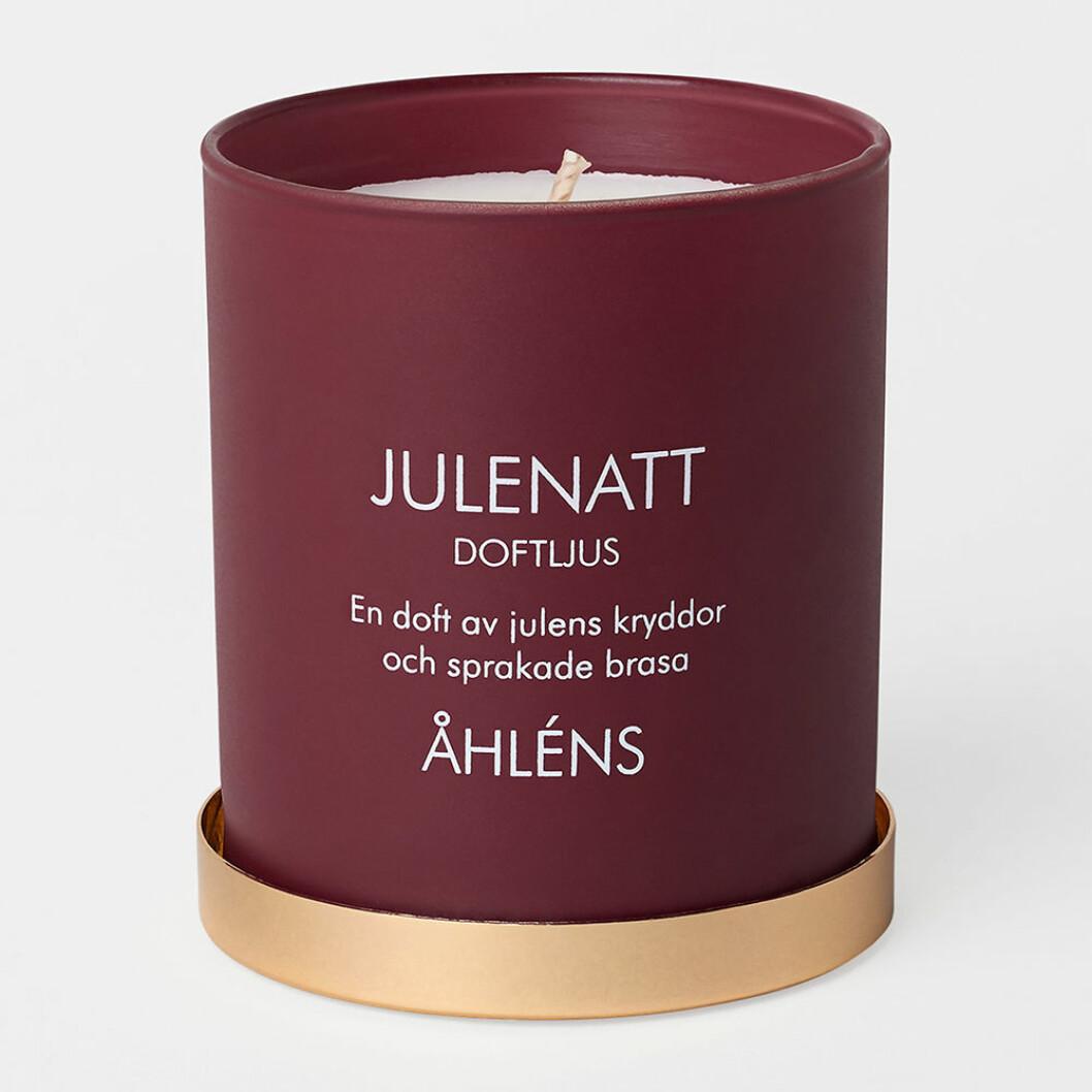 Julenatt doftljus från Åhléns