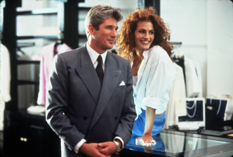 Julia Roberts och Richard Geere i Pretty Woman