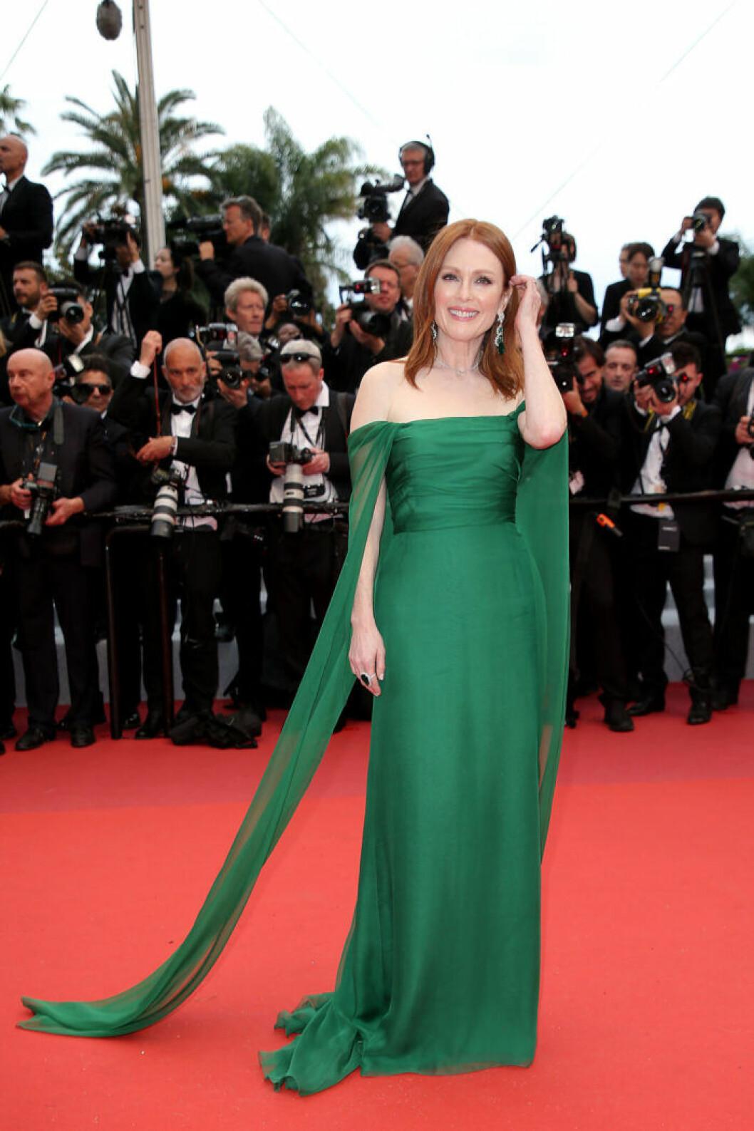 Julianne Moore på filmfestivalen i Cannes 2019