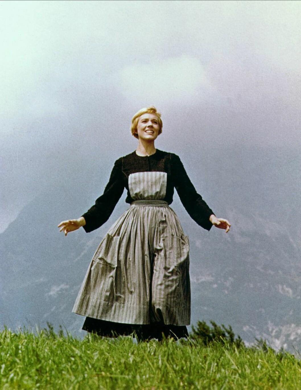 Julie Andrews i Sound of Music