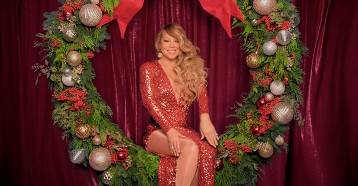 Mariah Careys jullåt All I Want For Christmas Is You toppar listan