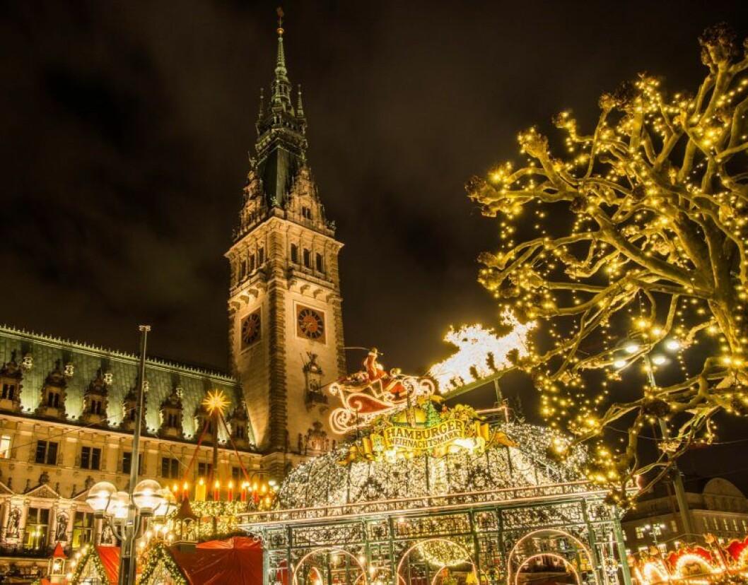 Julmarknad i Hamburg