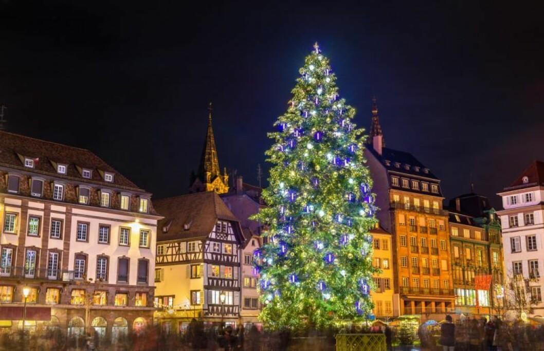 Julmarknad i Strasbourg