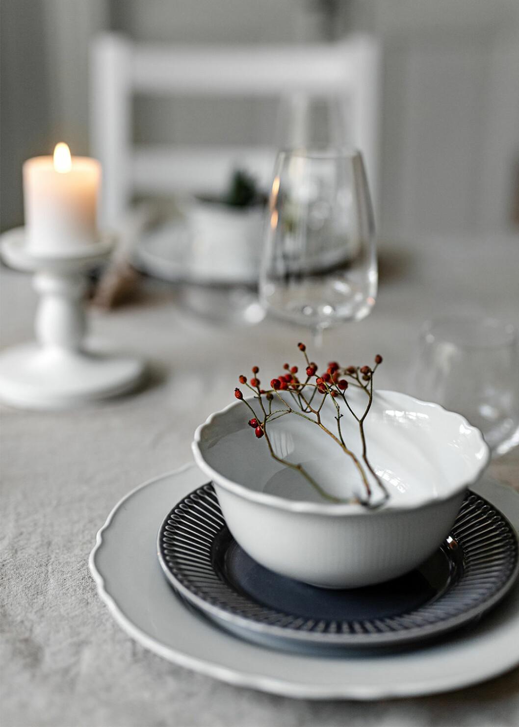 Enkel och fin juldukning från Ikea