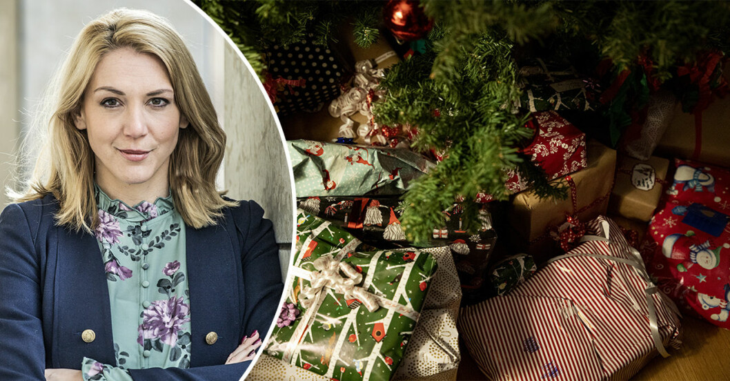 Frida Bratt ger råd om julen.