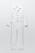 Vit byxdress i denimmaterial. Långa ärmar och ben. Jumpsuit från Zara.