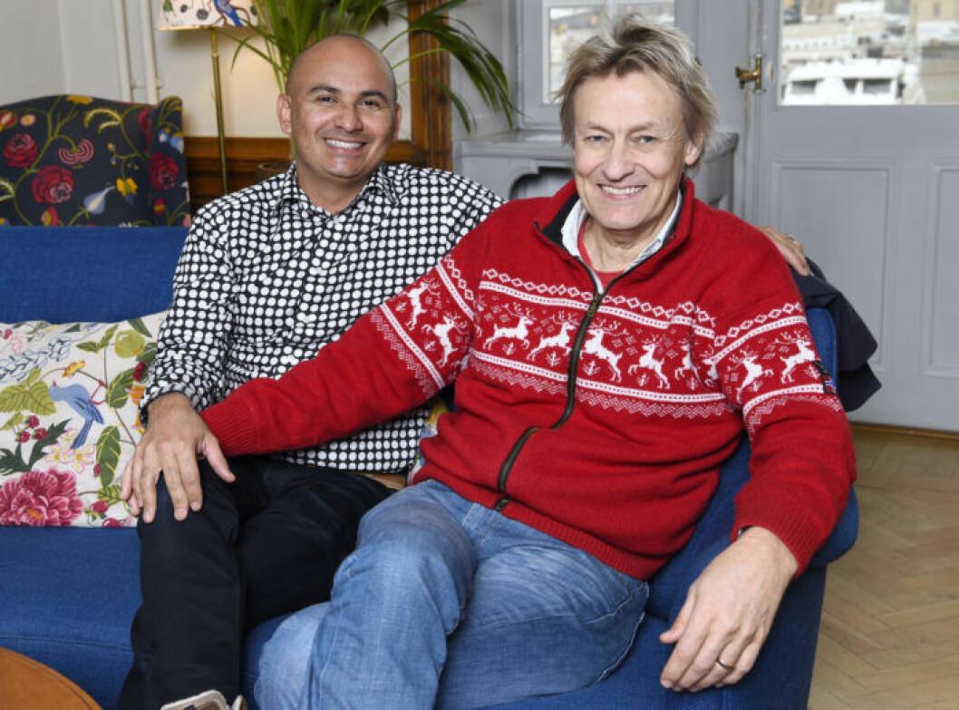 Lars Lerin och Junior är med i årets säsong av Tillsammans med Strömstedts