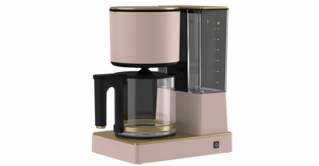 Populära kaffebryggaren, Coline, i trendiga färgen rosa
