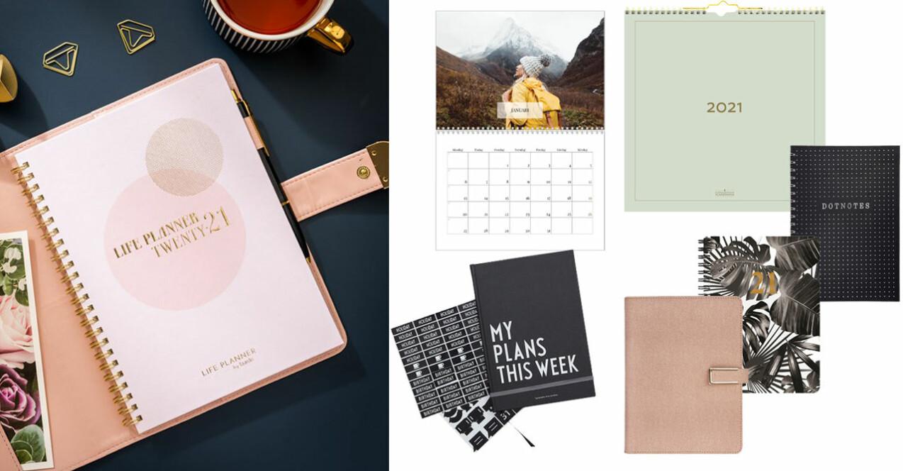 Kalender och almanacka 2021