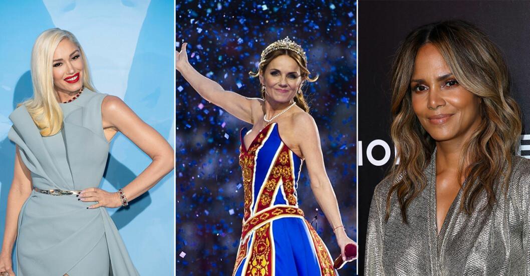 Gwen Stefani, Geri Halliwell och Halle Berry blivit mammor efter 40.