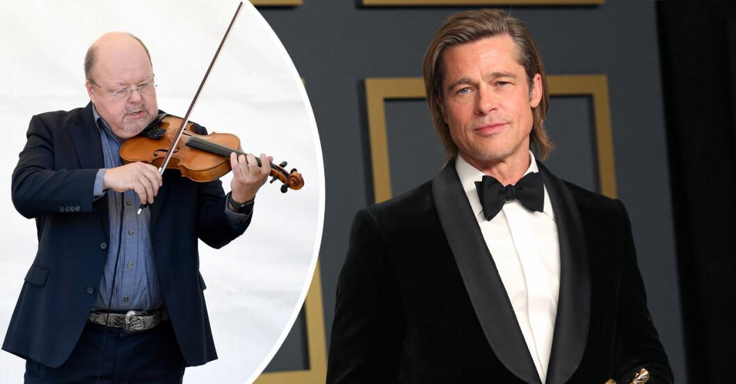 Brad Pitt och kalle moraeus