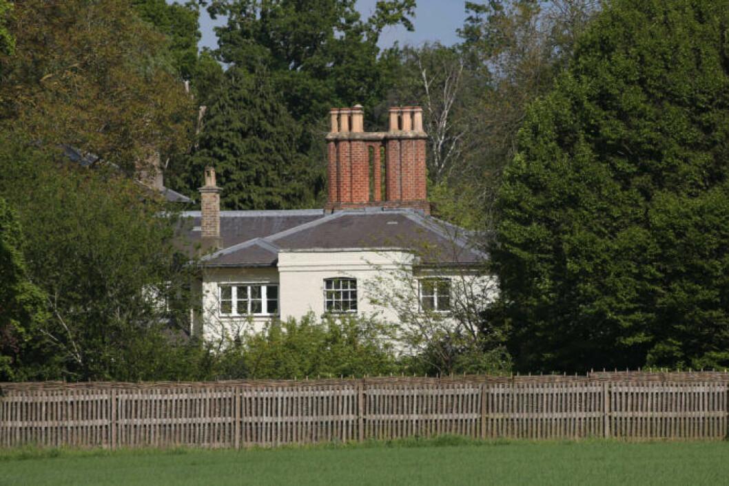Meghan Markle och prins Harry renoverar Frogmore cottage