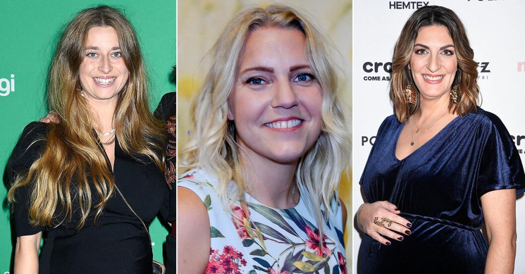 Siri Barje, Carina Bergfeldt och Soraya Lavasani