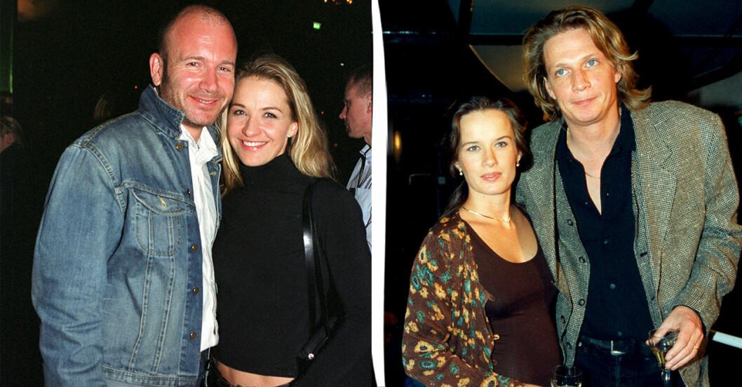 Hans Fahlen med Kristin Kaspersen, Malin Berghagen med Tommy Nilsson.