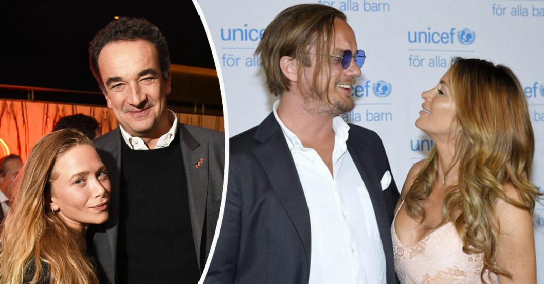 Carolina Gynning och Viktor Philipson, Mary-Kate Olsen och Olivier Sarkozy