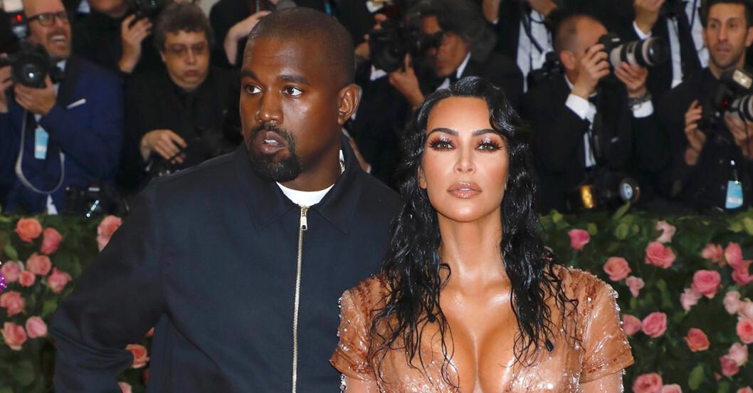 Kanye West och Kim Kardashian är inte längre ett par.