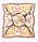 Scarf med apor och blommönster. Mönstrad scarf från Kappahl.