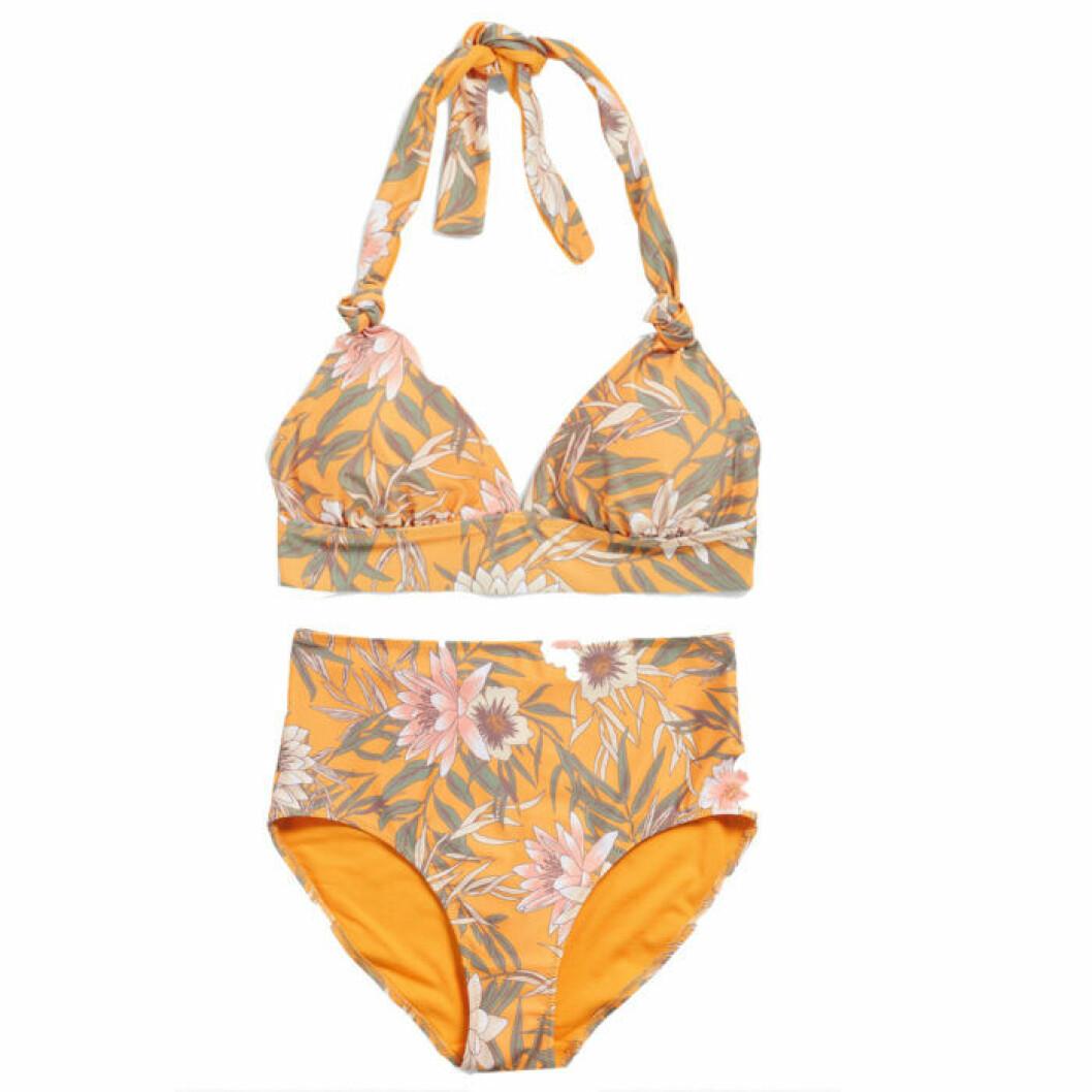 Mönstrad bikini med hög midja från KappAhl