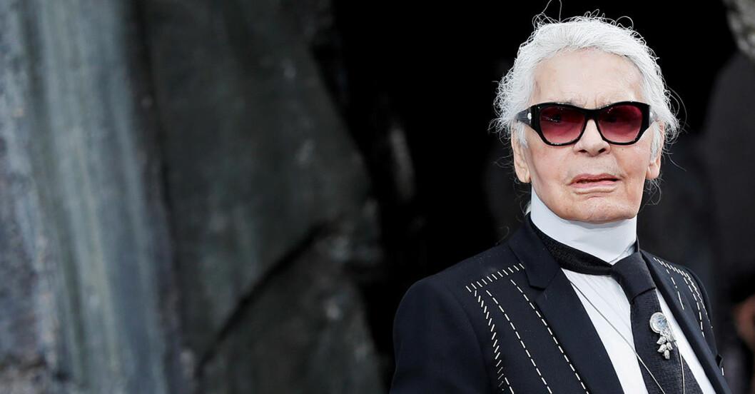 Karl Lagerfeld är död.