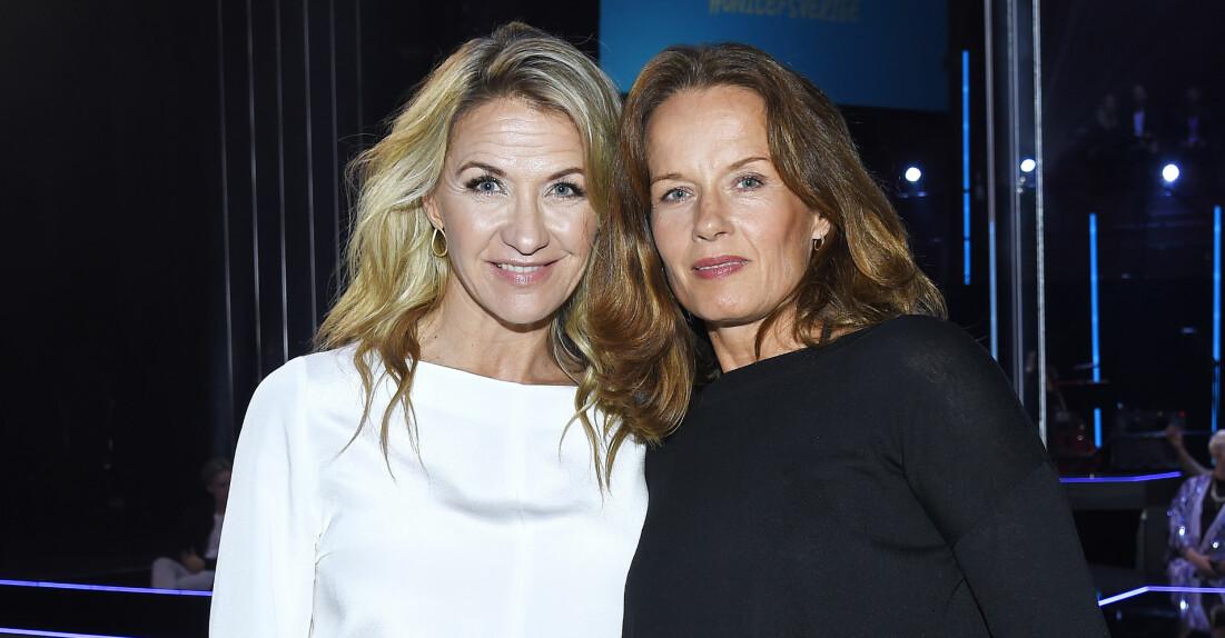 Kristin Kaspersen och Malin Berghagen.