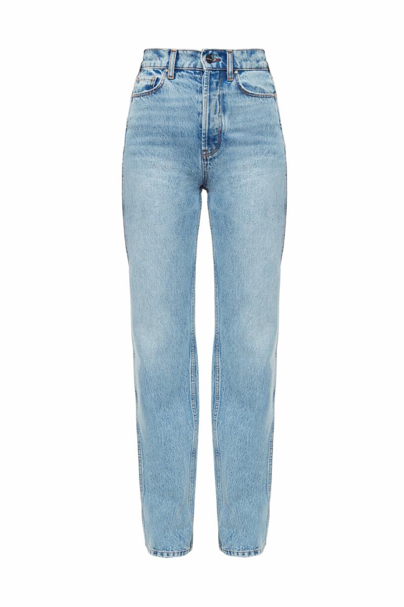 Anine Bing x Helena Christensen jeans