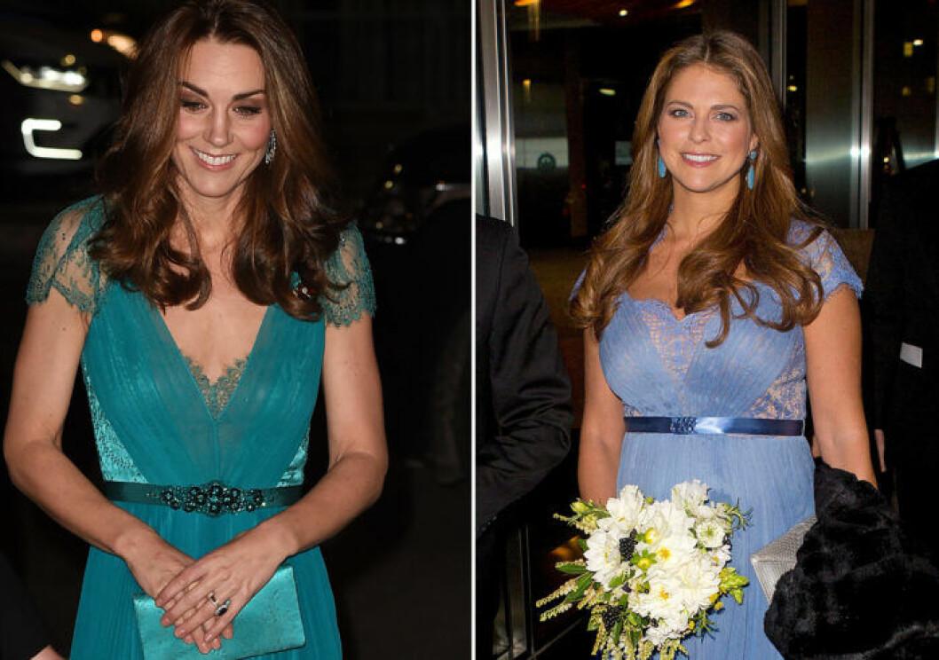 Kate och Madeleine